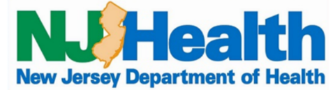 New jersey Department of Health logo