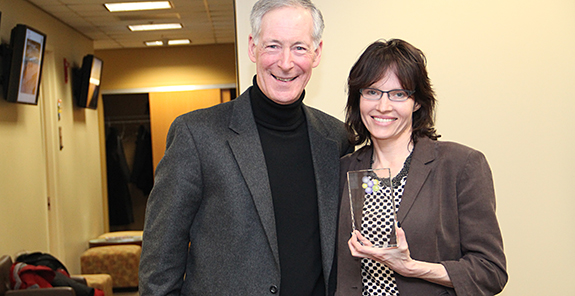 Dena Seidel receives  2015 IFNH Director's Award
